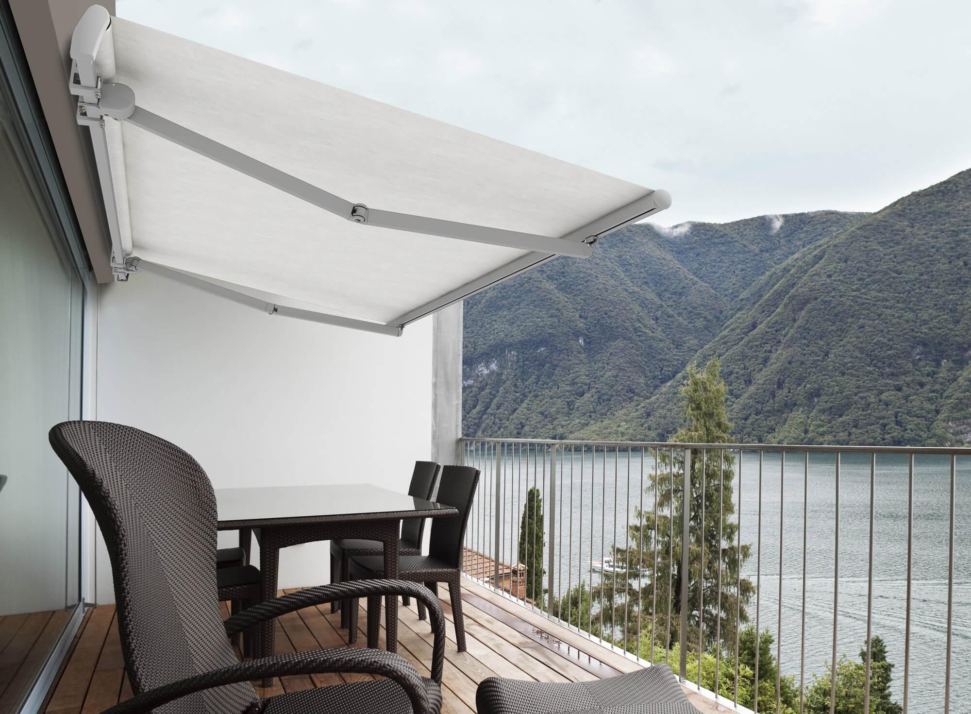 Tende Per Soffitti Inclinati tende da sole a bracci estensibili - ke outdoor design