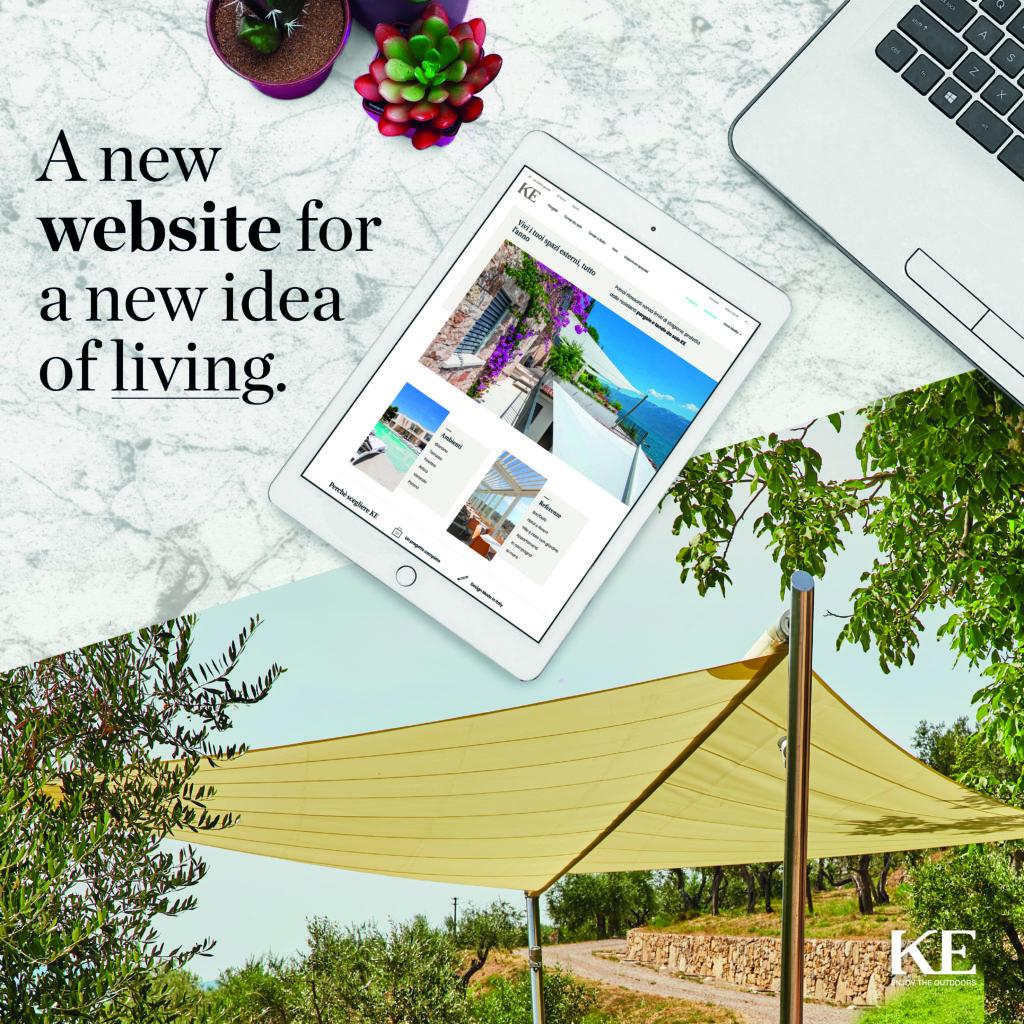 New KE website