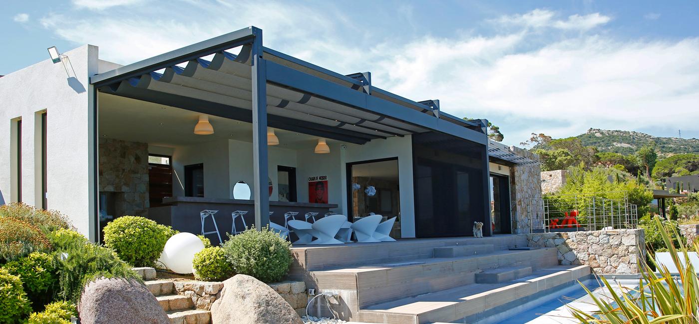 Tende Da Sole Tetto Spiovente ke outdoor design: pergole, tende da sole e coperture per